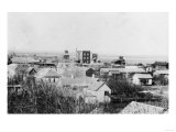 Aerial View of the Town - Waukon, OK Prints