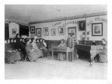 Women's Debate Class Carlisle Indian School Photograph - Carlisle, PA Prints