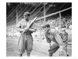 Al Bridwell & Jimmy Archer, Chicago Cubs, Baseball Photo Kunstdrucke