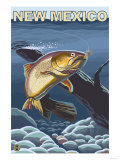 Cutthroat Trout Fishing - New Mexico Prints