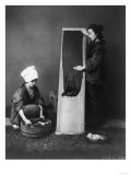 Women Washing and Ironing in Japan Photograph - Japan Prints