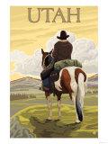 Cowboy - Utah Prints