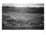 Anchorage, Alaska View from the Air Photograph Prints by  Lantern Press