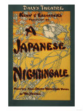 A Japanese Nightingale Theatrical Play Poster Prints