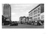 Yakima, Washington Street Scene View Photograph - Yakima, WA Prints by  Lantern Press