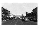 Yakima, WA View of Yakima Ave. Photograph - Yakima, WA Art
