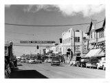 Anchorage, Alaska View of 4th Avenue Photograph Art by  Lantern Press