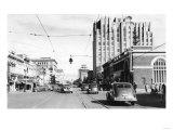 Yakima, WA Main Street View Photograph - Yakima, WA Prints