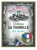 Vin De Bordeaux Wine Label - Europe Prints by  Lantern Press