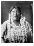 Arikara Woman Indian Native American Curtis Photograph Art by  Lantern Press