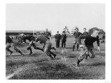 Yale Footbal Practice Photograph - New Haven, CT Prints by  Lantern Press