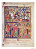 Joshua, from the Morgan Picture Bible, c.1244-54 Giclee Print
