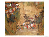 Landscape, Tang Dynasty Giclee Print by Li Sixun 