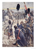 Soldiers, This Battle Must Be a Thunder Clap, The Story of France, 1920 Giclee Print by William Rainey