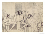 Twelfth Night, c.1850 Giclee Print by Walter Howell Deverell