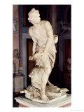David, 1623-24 Giclée-tryk af Bernini, Giovanni Lorenzo