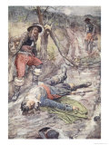 Today a Man Has Fallen Who Did Honour to Man, from the Story of France Told to Boys and Girls, 1920 Giclee Print by William Rainey
