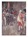 This is Not the Time or Place to Do as You Desire, The Story of France, 1920 Giclee Print by William Rainey