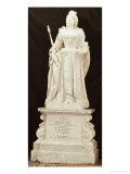 Statue of Queen Anne Giclee Print by John Michael Rysbrack