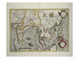 Indian Subcontinent to Philippines by Indonesian Archipelago and the Malay Peninsula, c.1600, Giclee Print