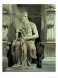 Tomb of Pope Julius II Giclee Print by Michelangelo Buonarroti 