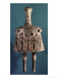 Bell Idol, from Thebes, Boeotia, c.700 BC Giclee Print by  Greek