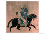 Mongol Archer on Horseback, from Seals of the Emperor Ch'ien Lung and Others, 15th-16th Century Giclee Print by Ming Dynasty Chinese School