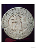 Mayan Ball Court Marker, from Chinkultic, Chiapas, c.590 Giclee Print by  Pre-Columbian