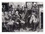 Washington and His Generals in Consultation, March 15th 1783 Giclee Print by Howard Pyle