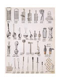 Kitchen Utensils, from a Trade Catalogue of Domestic Goods and Fittings, c.1890-1910 Giclee Print
