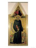 St. Nicholas of Tolentino Giclee Print by Bicci di Lorenzo