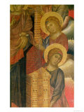 Angels from the Santa Trinita Altarpiece Reproduction procédé giclée par Cimabue