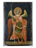 Warrior Angel, 1348-54 Giclée-tryk af Ridolfo di Arpo Guariento