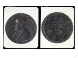 Portrait Medal, Obverse Depicting Sultan Mehmed II Giclee Print by Gentile Bellini