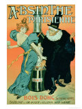 So Drink, You'll See Later, Poster Advertising Parisian Absinthe Giclee Print by P. & Maltese Gelis-didot