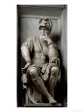 Statue of Lorenzo De&#39; Medici Giclee Print by Michelangelo Buonarroti 