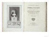 Le Fabbriche e i Disegni Di Andrea Palladio, Portrait of the Architect Giclée-Druck von David Rossi
