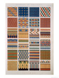 Egyptian No 8, Plate X, from The Grammar of Ornament by Owen Jones Giclee Print by Owen Jones