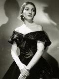 Maria Callas as Violetta in La Traviata Fotografie-Druck von Houston Rogers