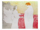 Woman in Bed, Waking Up, 1896 Giclee Print by Henri de Toulouse-Lautrec