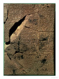 Tablet with Cuneiform Script, c.500 BC Giclee Print by Babylonian