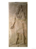 Relief of an Assyrian Warrior, from the Palace of Sargon II at Khorsabad, Iraq Reproduction procédé giclée par Assyrian
