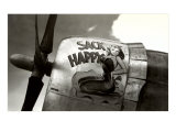Nose Art, Sack Happy Pin-Up Poster