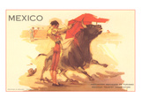 Bullfight Poster, Mexico Affischer