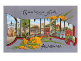 Greetings from Birmingham, Alabama Poster