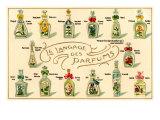 Langage des parfums Affiches