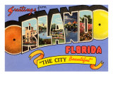Greetings from Orlando, Florida Prints