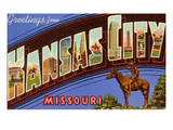 Greetings from Kansas City, Missouri Posters