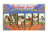 Greetings from Michigan Copper Country Prints