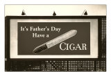 Billboard, Have a Cigar Poster